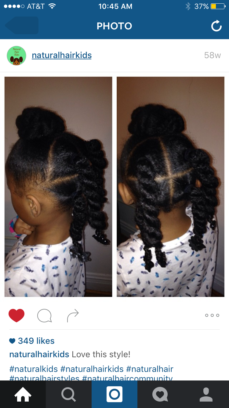 Simple Cute And Easy Girls Natural Hairstyles Natural