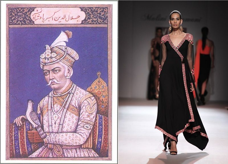 7 Style Makers From History Historical Figures Who Inspired Indian Fashion Akbar Angrakha Historical Fashion Indian Fashion Fashion