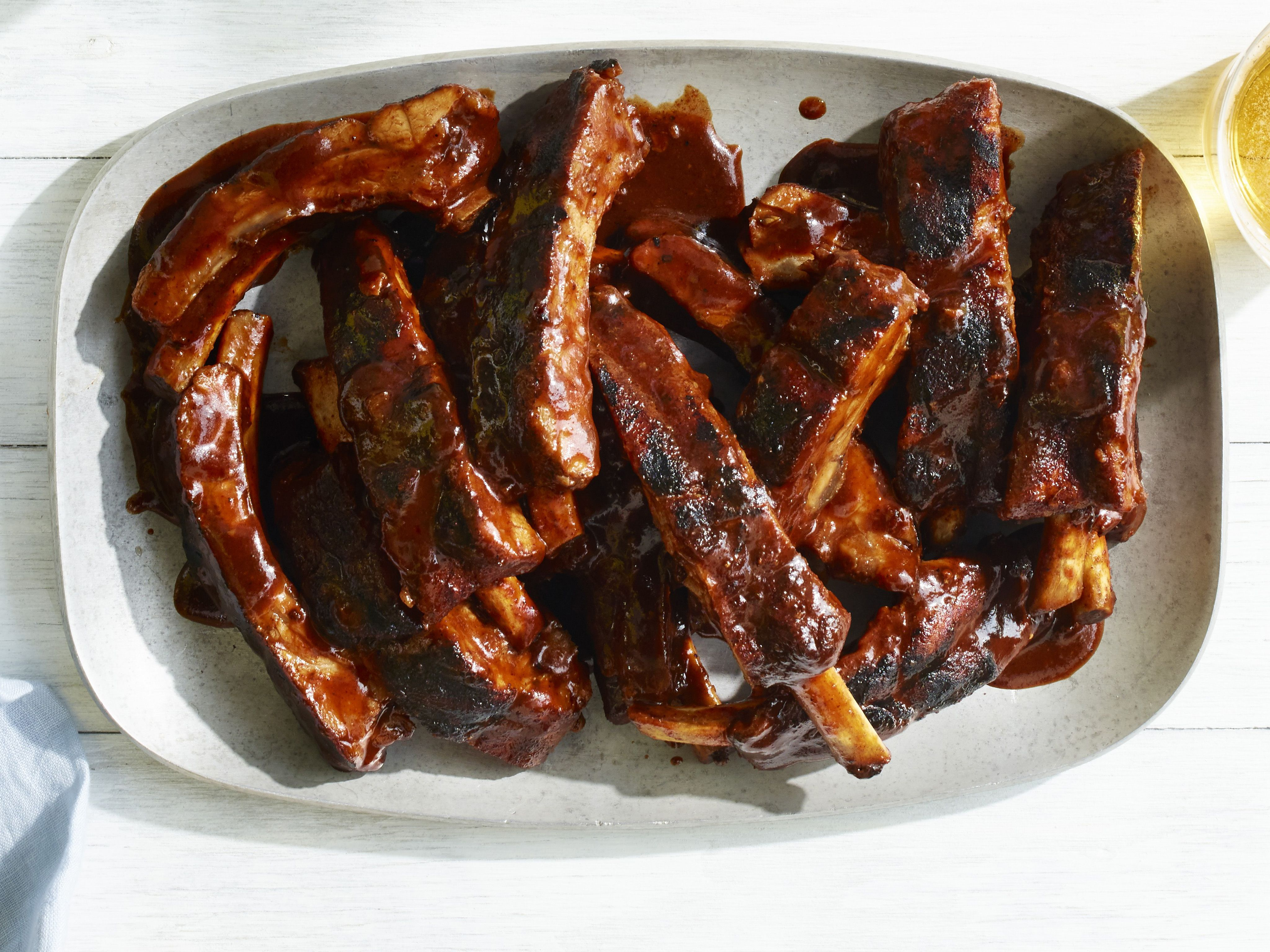 Best barbecue ribs ever recipe pinterest barbecue ribs katie best barbecue ribs ever recipe from katie lee via food network forumfinder Choice Image