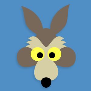 Printable Coyote Mask