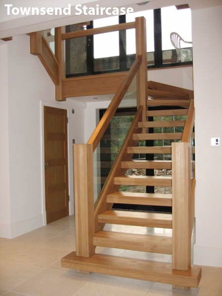 Best I Like This With Darker And Less Bulky Wood Modern Staircase Staircase Design Wooden Stairs 400 x 300