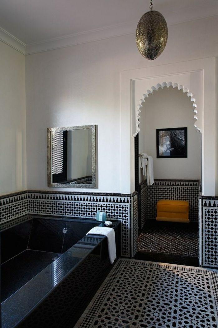 Wandgestaltung Bad   35 Ideen Für Badezimmergestaltung Mit Fliesen |  Pinterest | Fliesenmuster, Wandgestaltung Bad Und Badezimmerfliesen