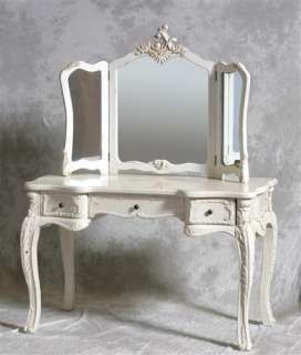 Victorian Vanity Dressing Table | Top Quality Antique White Large ...