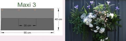Vertical garden by BBQ