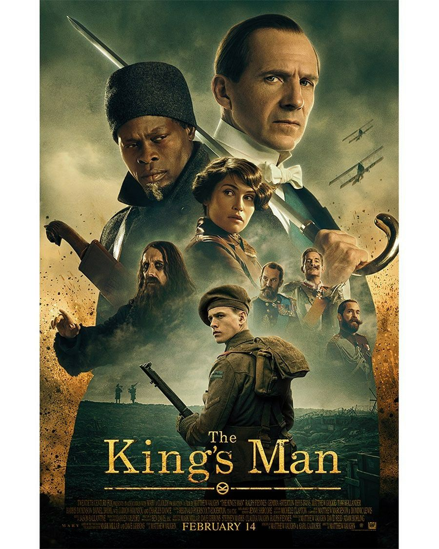 Image result for the kings man 2020 poster