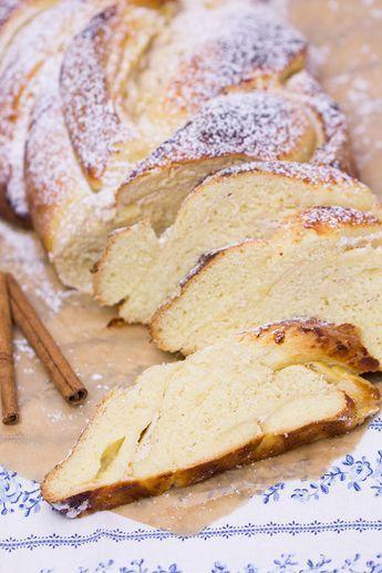 Quark-Zimt-Hefezopf - Rezept | verzuckert-blog.de #cakesanddeserts