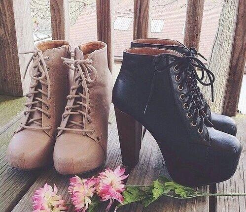 shoes, heels, and black image I love shoes!!! <3 #shoes #fashion