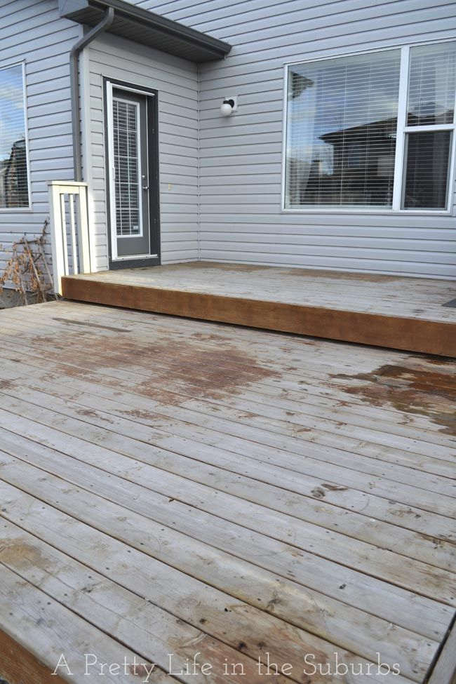 Our Deck Makeover Part 2 Painting A Platform Deck A Pretty Life