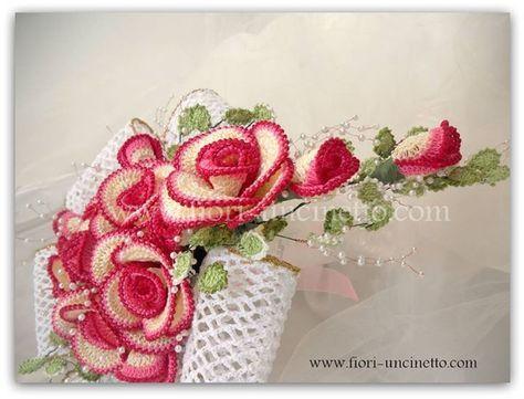 Fiori Uncinetto Crochet Flowers Fiori all Uncinetto Crochet