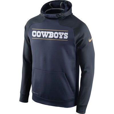 d105f31b0e0 new zealand mens dallas cowboys nike navy championship drive gold  collection hyperspeed performance pullover hoodie 79.99