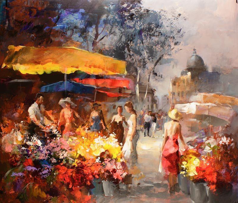 Willem+Haenraets+1940+-+Hollandaise+Impressionist+painter+-+Tutt'Art@