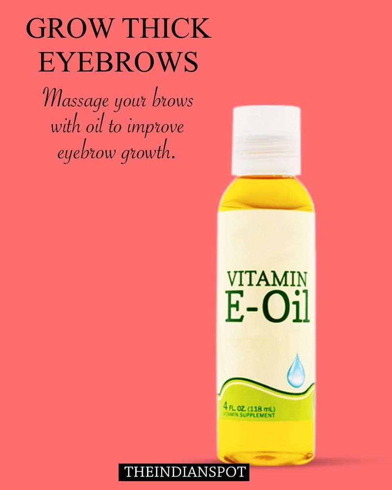 Exfoliate Eyebrows Grow Back Thin Or Over Plucked Brows