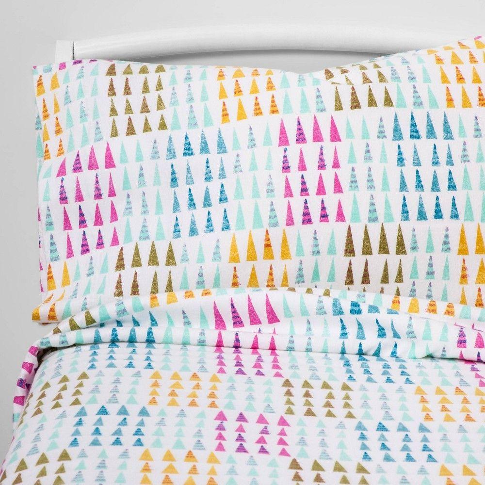 Full Fir Farm Flannel Sheet Set - Pillowfort