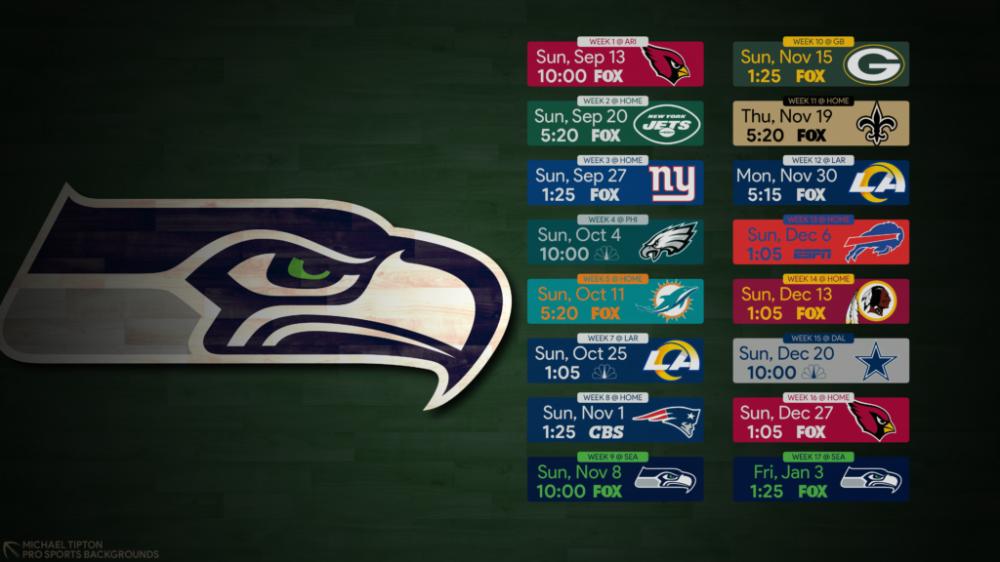 Pin on 2020 NFL Desktop Schedule Wallpapers