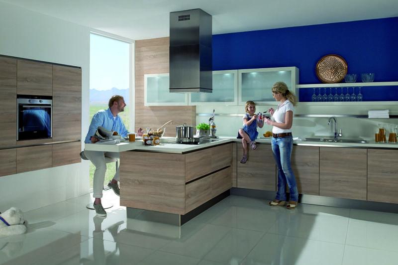 Stunning Atlanta GL H cker K chen Quercia naturale ruvida Design vivo e funzionalit si danno la mano