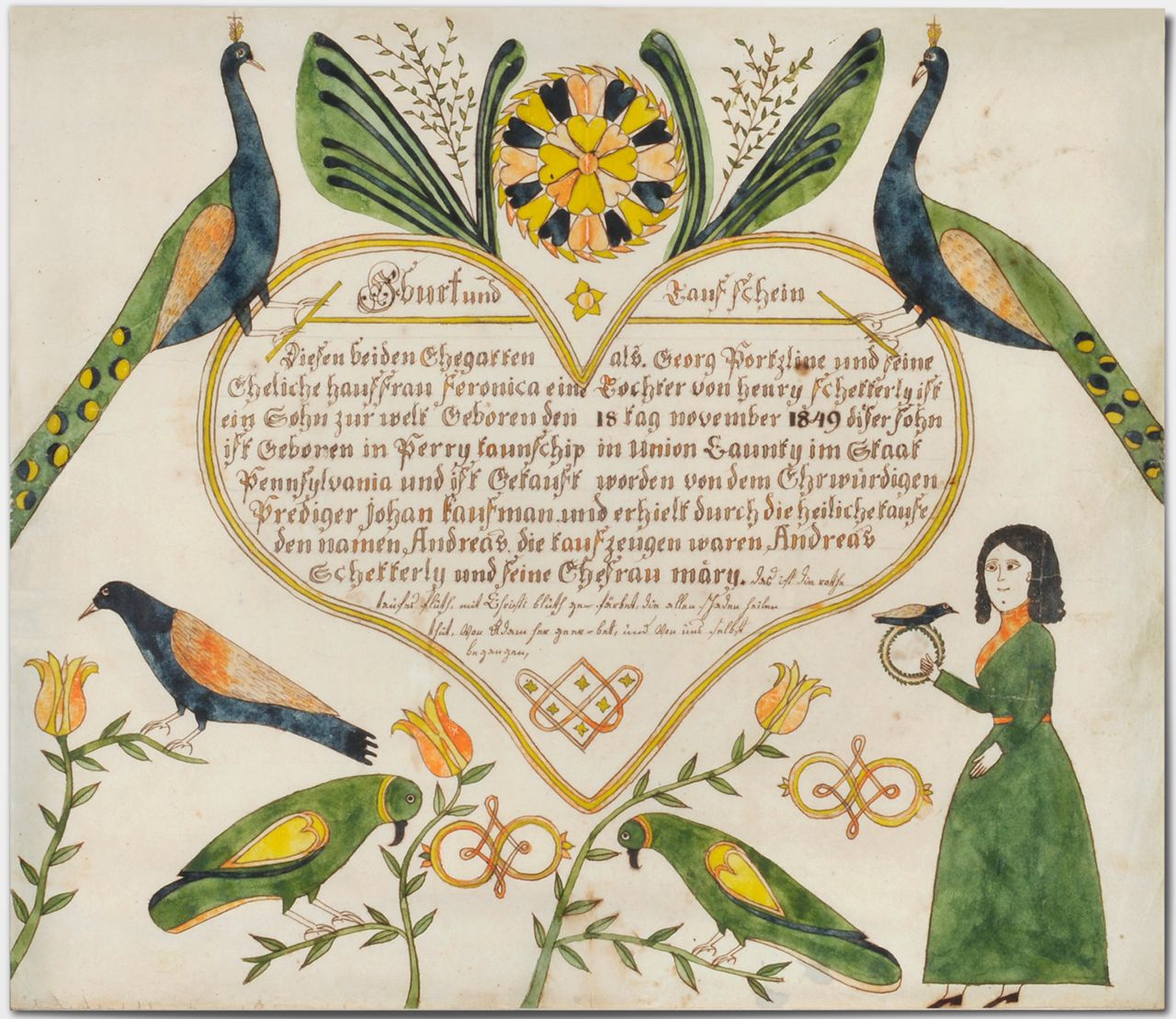 philamuseum: Enjoy the expressive fraktur tradition on view in ...