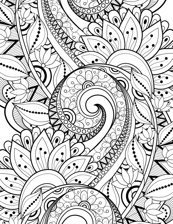 Libros de Colorear para Adultos | Adult coloring, Mandala and ...