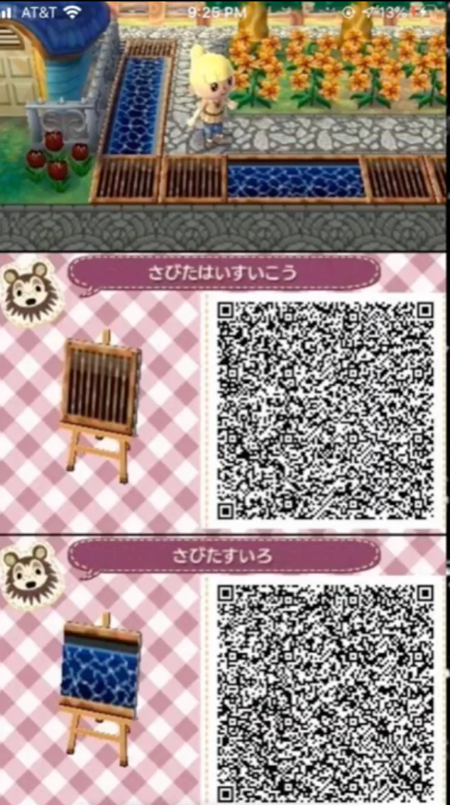 Pin On Animal Crossing New Horizons New Leaf Qr Codes