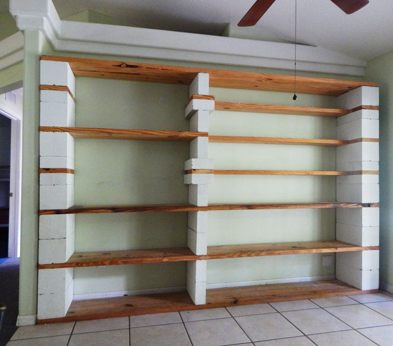 I Ve Been Meaning To Share Photos Of My Cinder Block Bookshelves