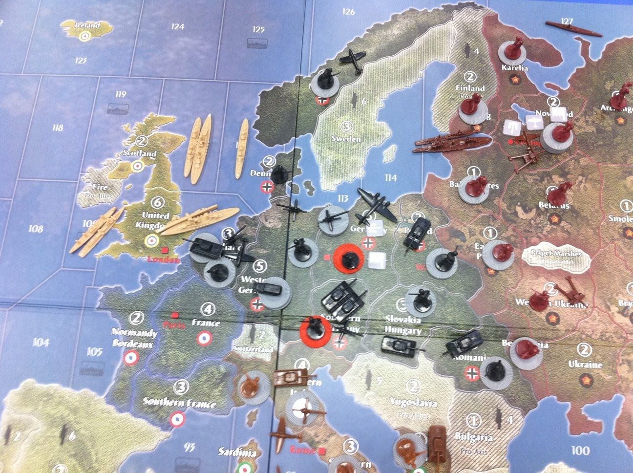 Axis and Allies Map Downloads | TheUndermind: Axis and Allies Europe ...
