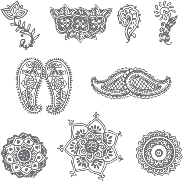 These Are A Few Very Simple Henna Patterns Description From Hdwalls