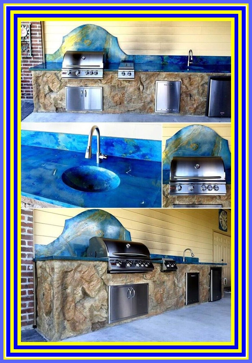 100 reference of concrete countertops designs forms and