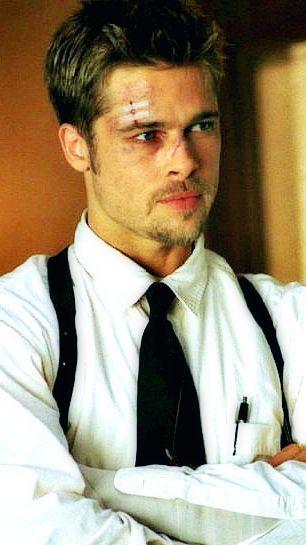 Brad Pitt In Seven Brad Pitt Seven Movie Bratt Pitt