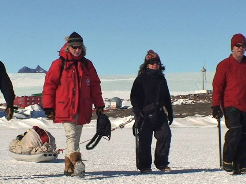 information about living and working in Antarctica