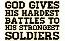 I love my soldier!