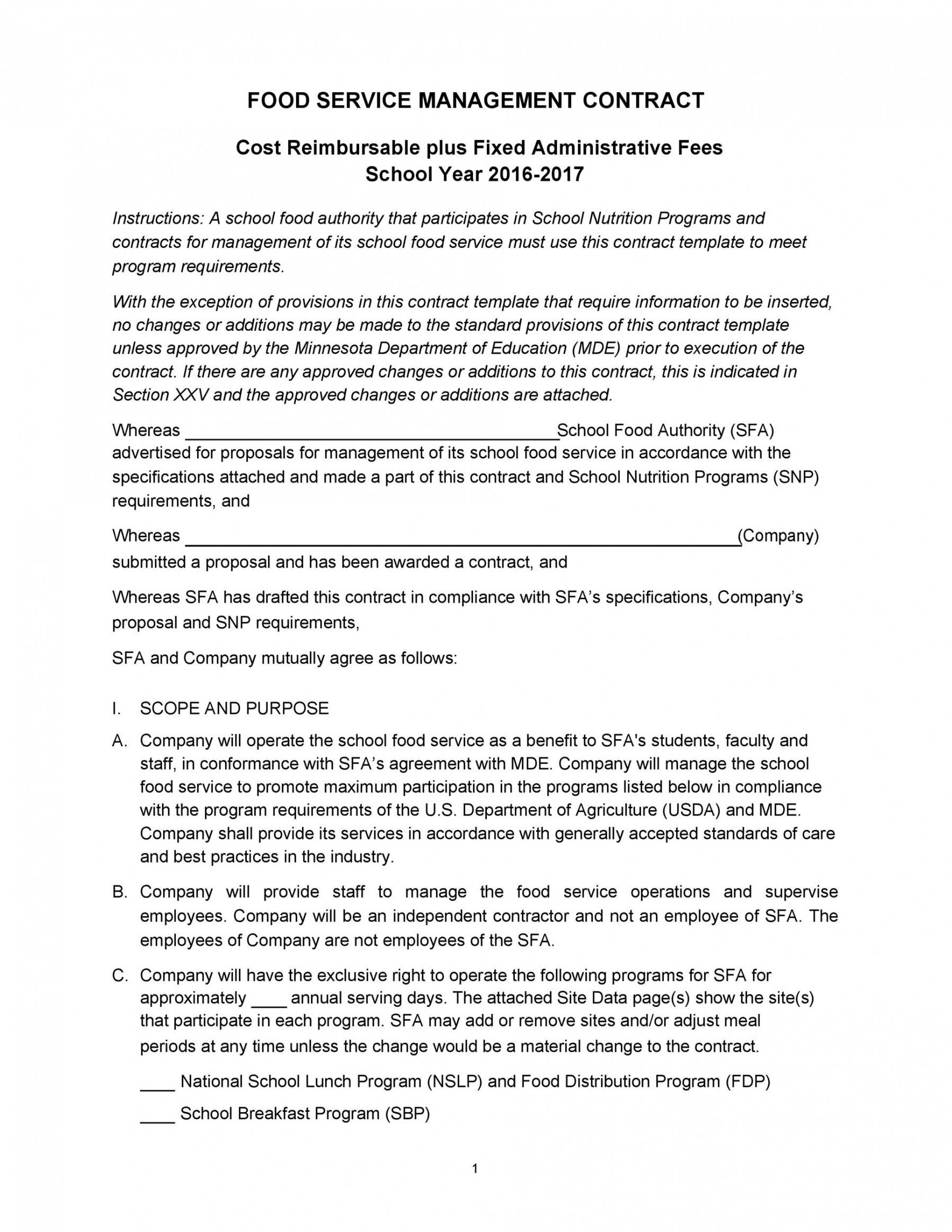 Printable 50 Artist Management Contract Templates Ms Word Templatelab Music Manager Contract Contract Template Management Artist Management Artist management contract template pdf