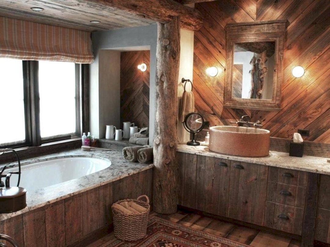 25 Rustic Bathroom Vanities For Unique