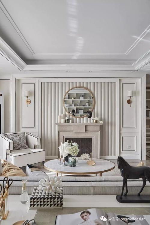 Modern Classic Living Room Interior Design: Luxury Living Room Design, Modern