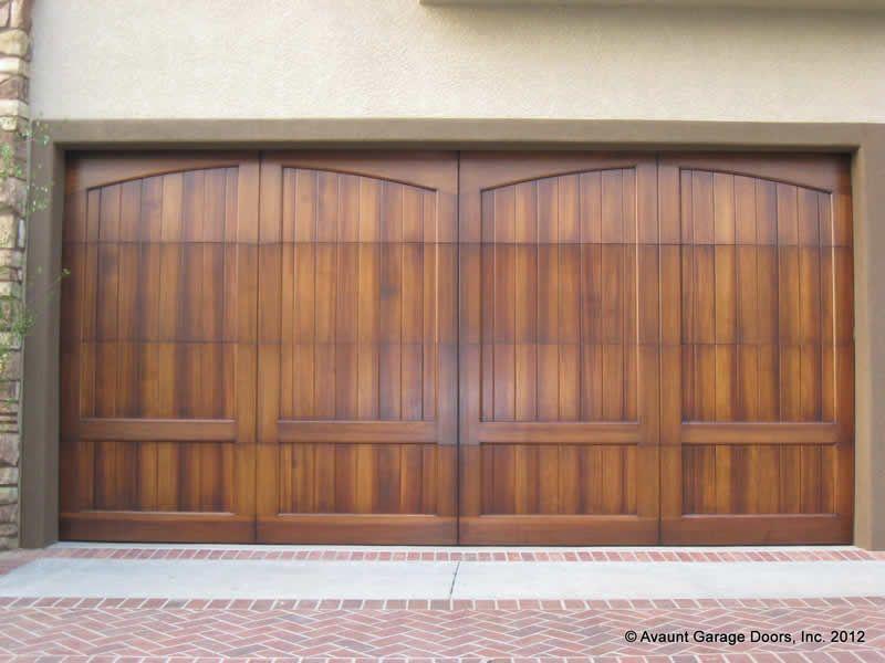 Wood Garage Doors Full Custom Wood Garage Doors Gallery Garage