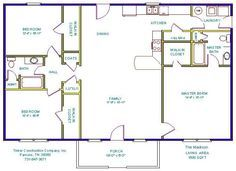 3 Bedroom Open Floor House Plans | Bedroom Design Ideas
