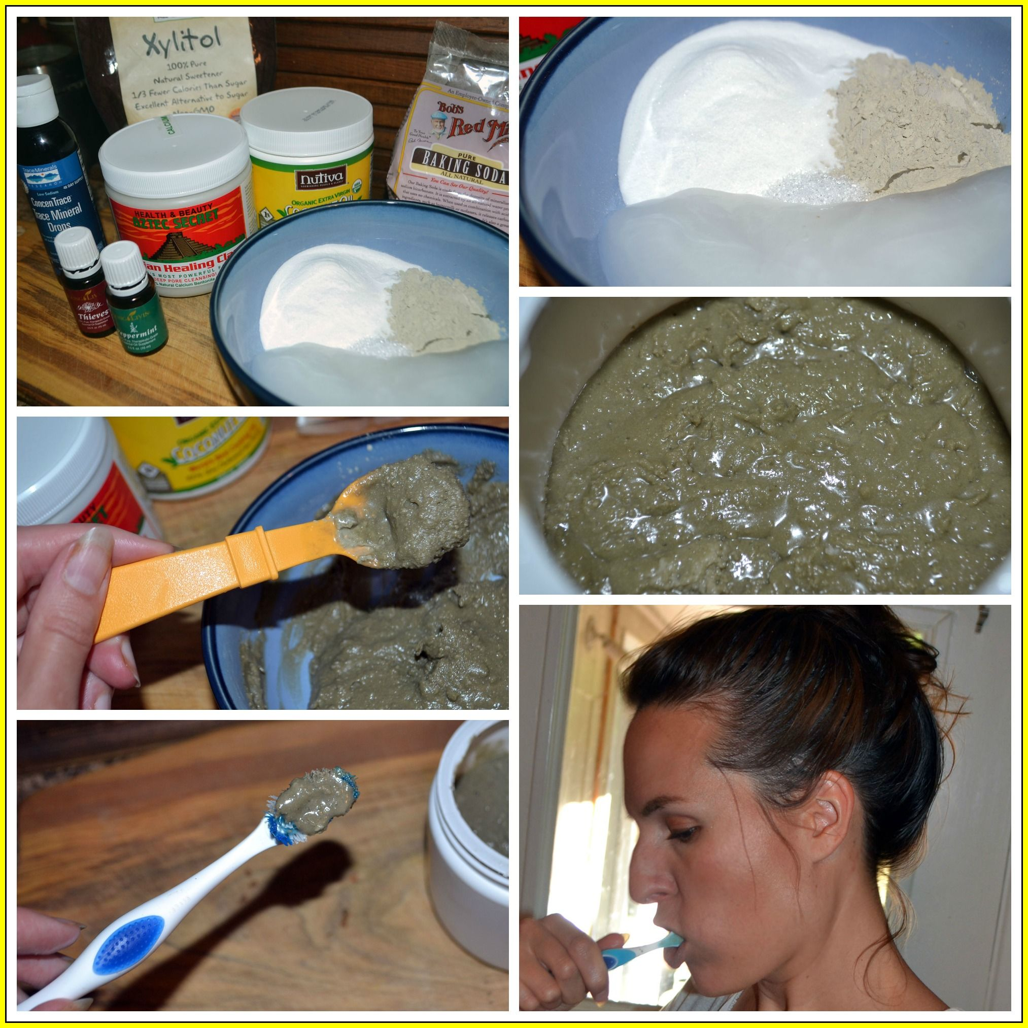 Homemade Toothpaste With Bentonite Clay  Συνταγή