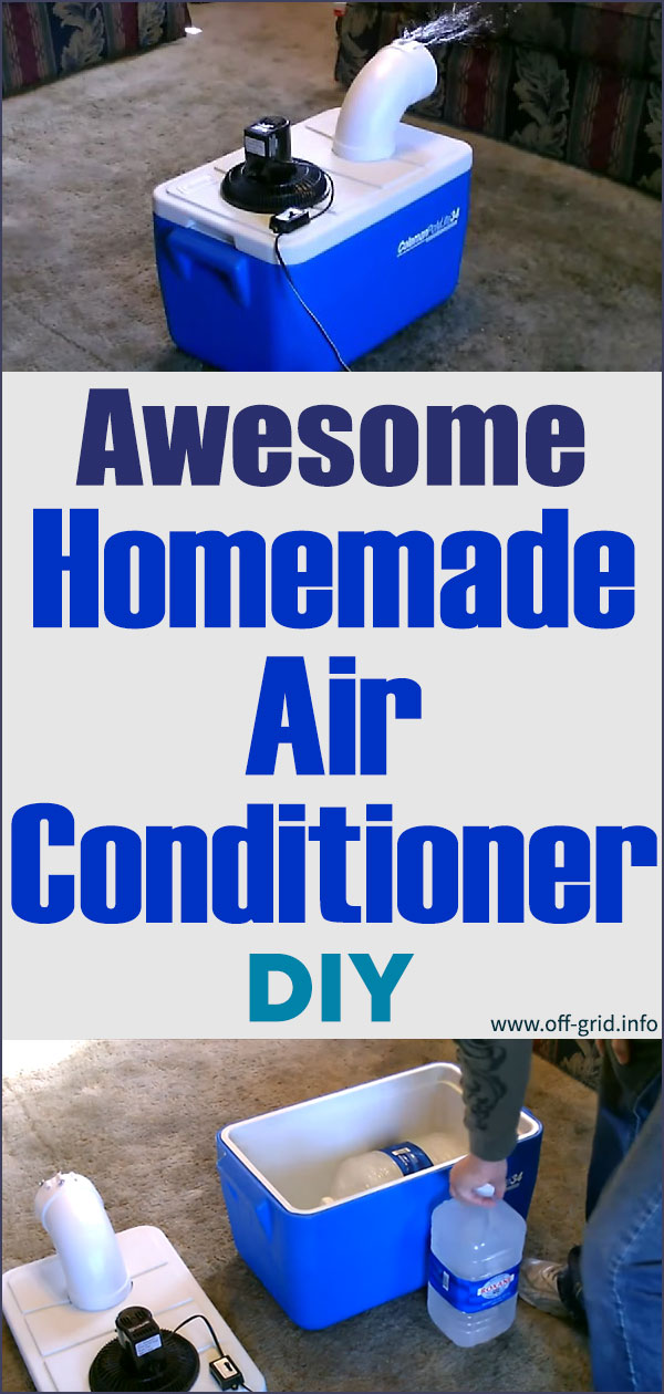 Awesome Homemade Air Conditioner DIY Can Be Solar