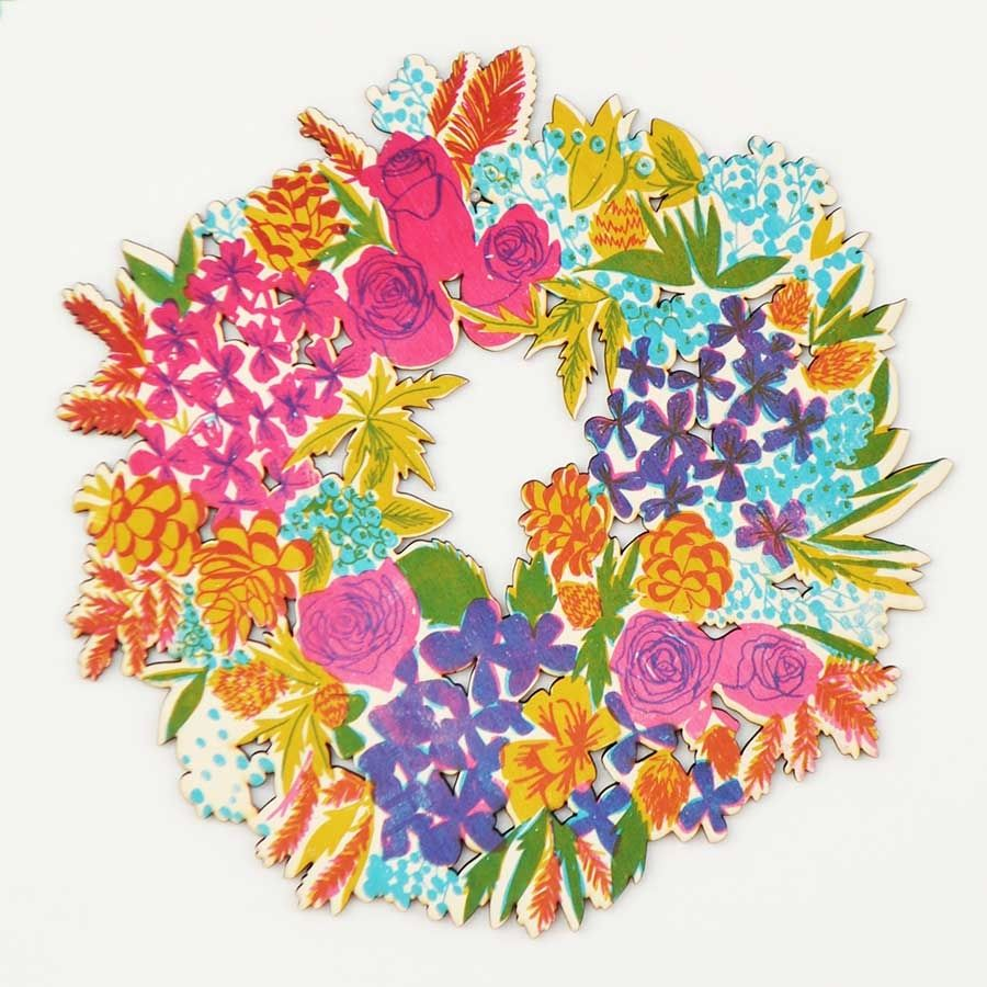 Colourful Wreath