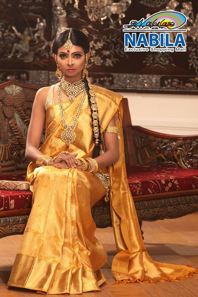 Nabila #Bangladesh #sari #bridal #saree #partysaree #gayeholud