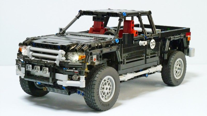 lego technic toyota tacoma 4x4 creations pinterest. Black Bedroom Furniture Sets. Home Design Ideas