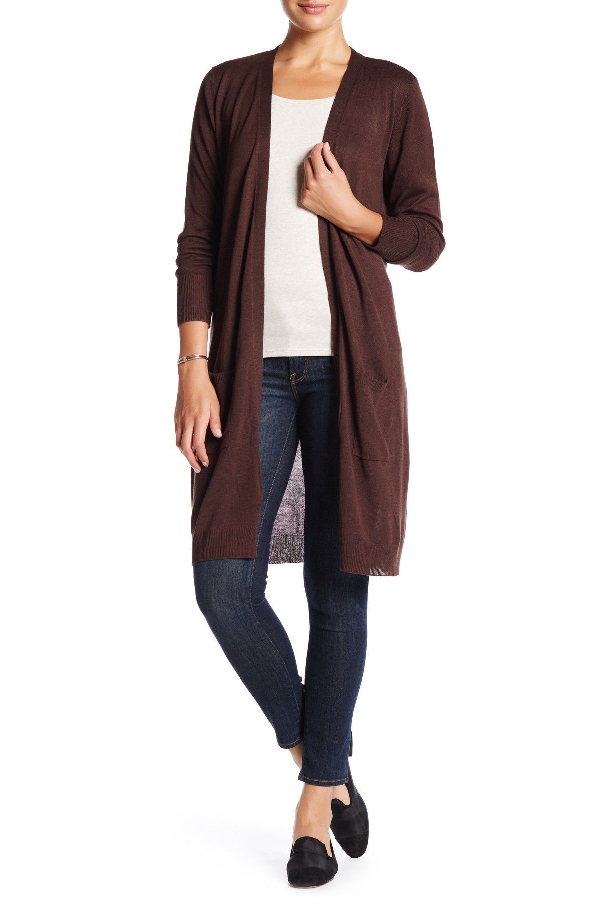 JOSEPH A | Knit Longline Cardigan | Dusters, Nordstrom and Free ...