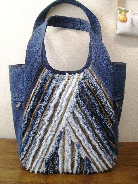 So many creative upcycled denim projectsof course