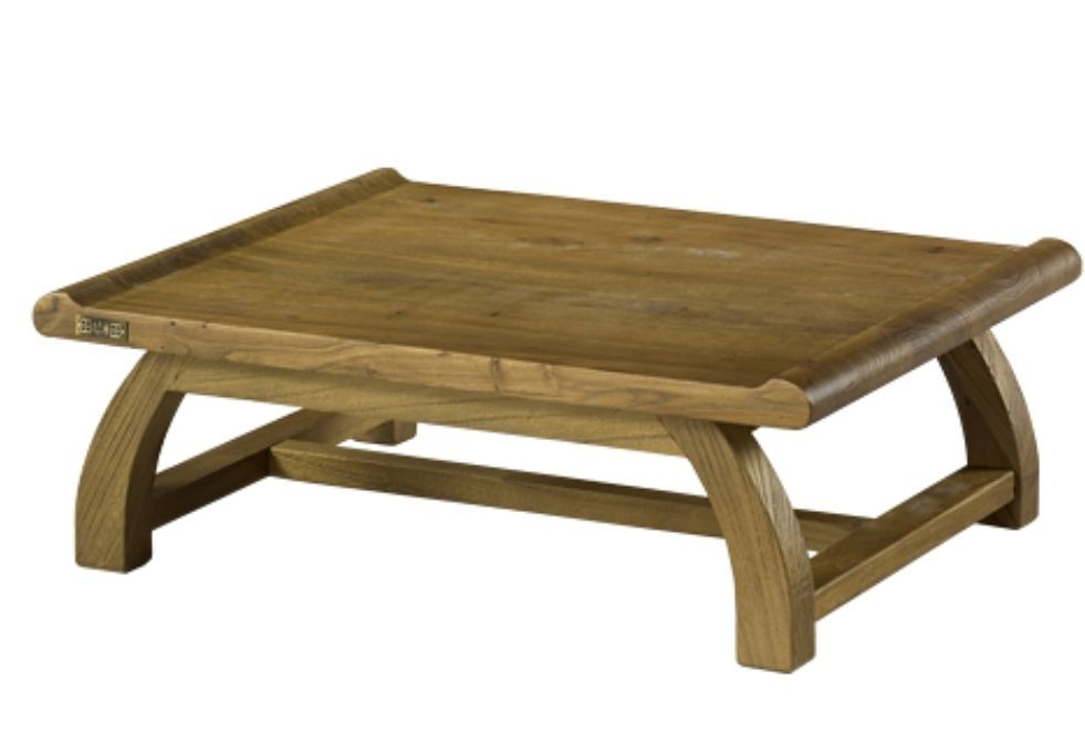 Elm Wooden Tea Table Old Anese Style Coffee Low Floor