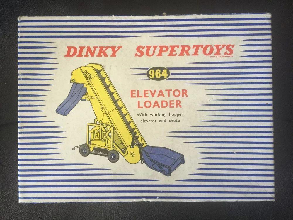 Dinky Supertoys 964 Elevator Loader #Dinky #dinkytoys #elevatorloader #toys #vintagetoys #vintage