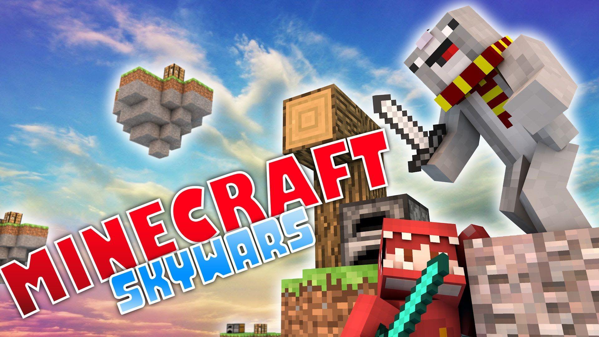 SAFETY WATER Minecraft Skywars YouTube MINECRAFT SERIES - Minecraft skywars spiele