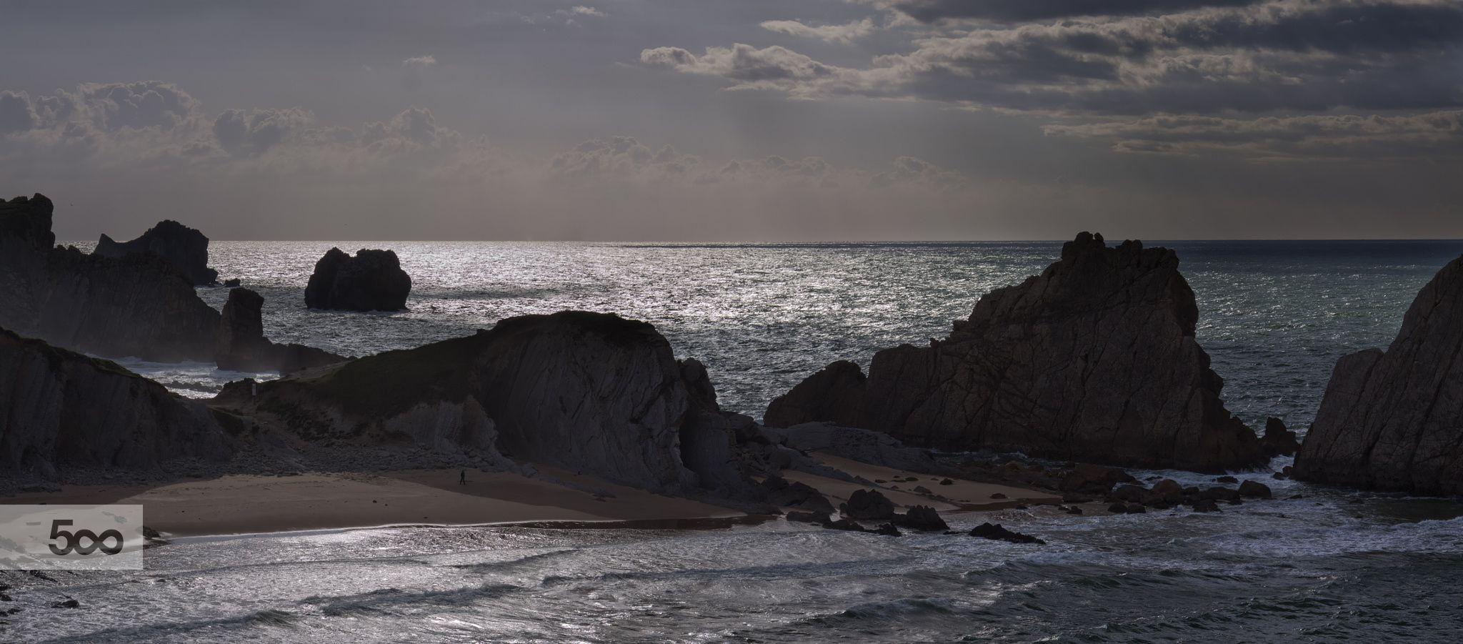 Playa de la Arnía #Cantabria #Spain