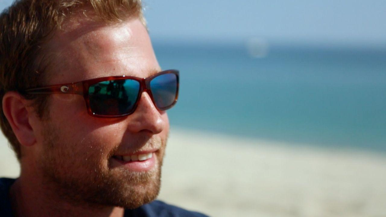 ba23e184b8cb Cut with Green Mirror Lens & Honey Tortoise Frames from Costa Sunglasses