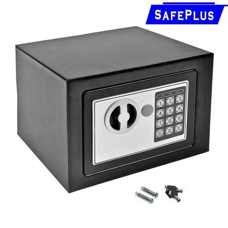 Digital Security Safe Box For Valuables Compact Waterproof And