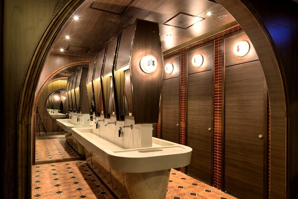 Restaurant Bathroom Design Bathroomendearing Restaurant Bathroom Design Home Interior Ideas