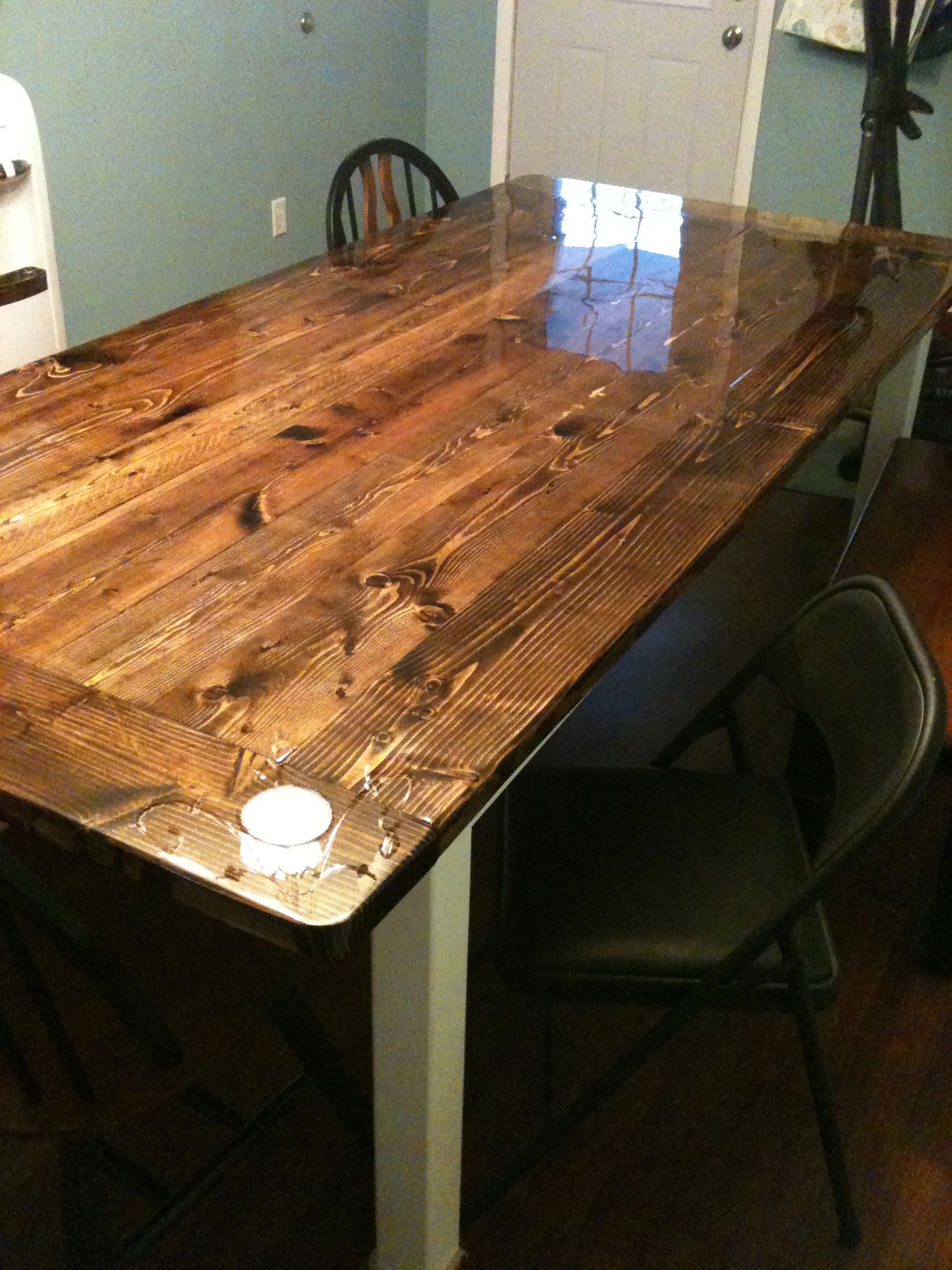 table i just built for under 200 bucks  dining table
