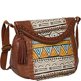The Sak Deena Flap Crossbody - Painted Tribal - via eBags.com!
